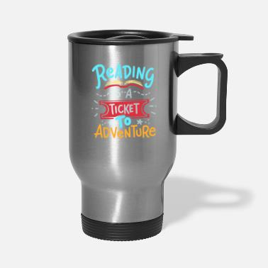 Read Reading Read - Travel Mug