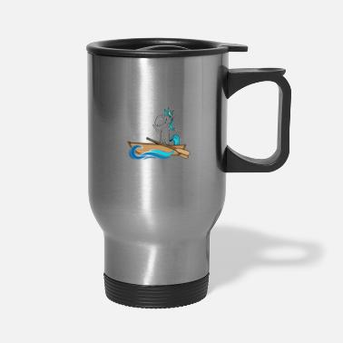 Boat Row Your Boat The Fuck Away From Me - Travel Mug