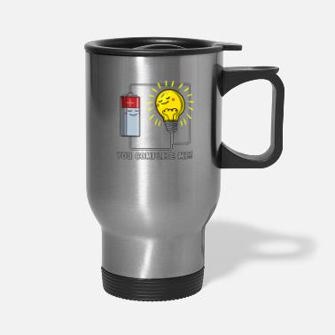 Physics Jokes Physics You Complete Me Joke - Travel Mug