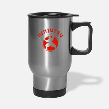 Ninjutsu Ninjutsu Love Passion Life Ninjutsu Ninja Fan - Travel Mug