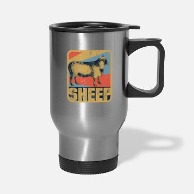 Wool Sheep - Travel Mug