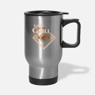 Grill King Grill, Gift, Gift Idea - Travel Mug