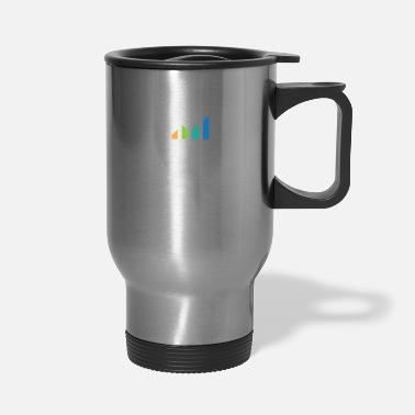 Charts Stocks Shareholder Investment Monitoring Cool Gift - Travel Mug