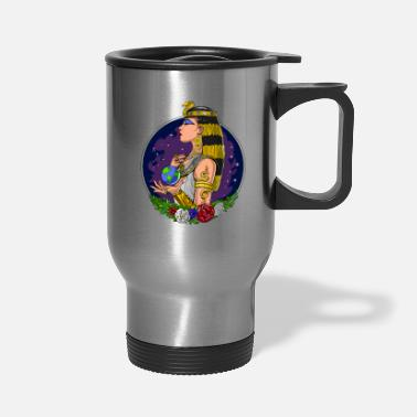 Ancient Egyptian Cleopatra Ancient Egyptian Queen - Travel Mug