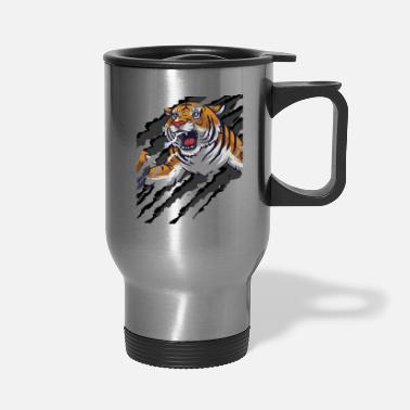 Scratch Tiger Scratch | Scratch Marks - Travel Mug