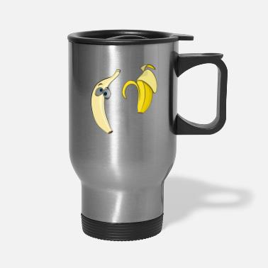 Strip Banana strip - Travel Mug