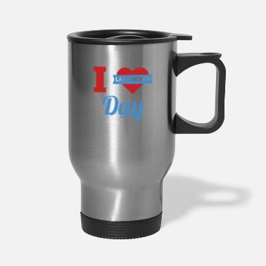 Pause Lazy Mom's Day Mother's lazy woman - Travel Mug