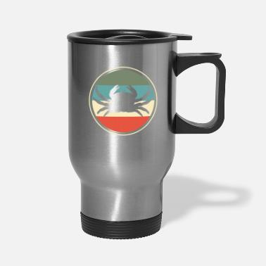 Crab Crab Crabbing Retro - Travel Mug