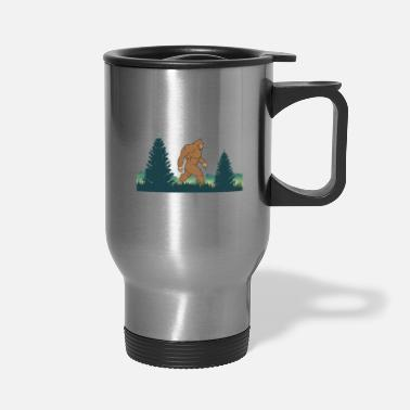 Ape Bigfoot-Saw Me But Nobody Believes Him - Travel Mug