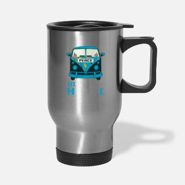 Hippie Boy Hippie Hawaii Boy Hippie Boy Gift - Travel Mug
