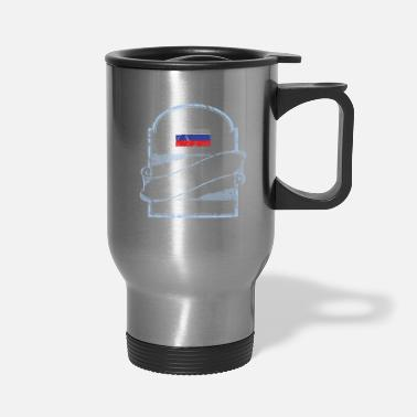 Fps Russia Russia T Shirt - Have No Fear The Russian Is Here - Travel Mug