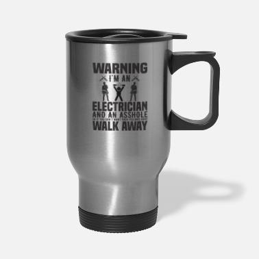 Nuclear Power Electrical Engineer Funny Electrician Men Gift - Travel Mug