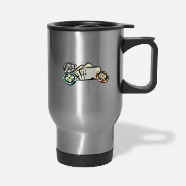 Holdem Poker, Texas Holdem - Travel Mug