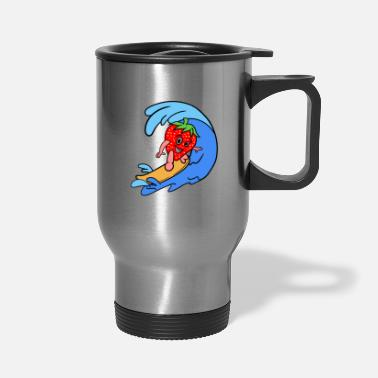 Sporty Sporty Strawberry - Travel Mug