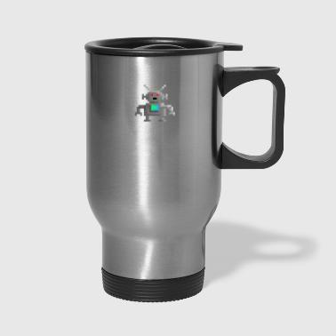 Scifi Robot i will be your master - Travel Mug