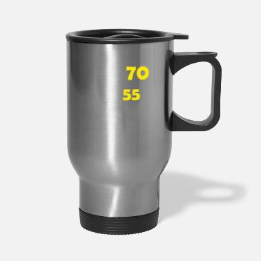 70th Birthday Funny 70th Birthday Designs - Travel Mug