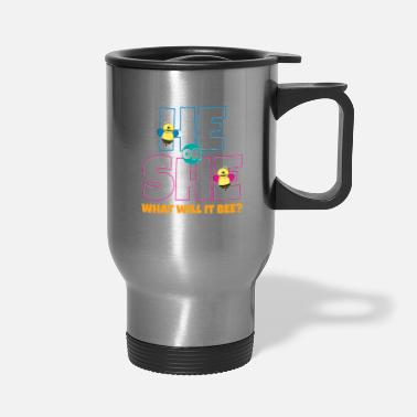 Bee He Or She What Will It Bee - Travel Mug