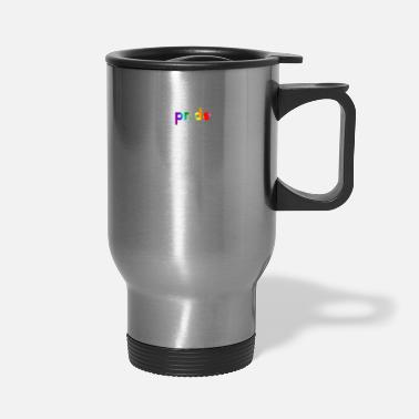 Parade Gay Pride LGBTQ Rainbow Stripe 2019 Awareness - Travel Mug