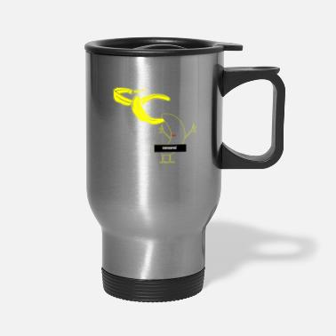 Loud Funny Stripping Banana - Travel Mug