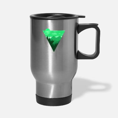 Alps Camping Shirt I Outdoor Nature Travel Backpacker - Travel Mug
