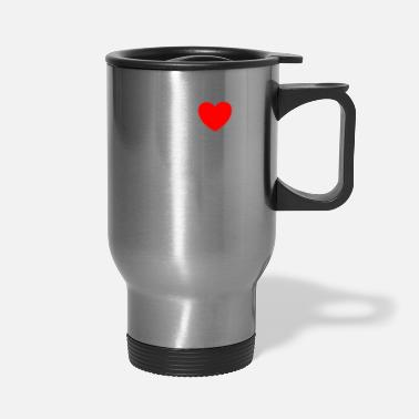 Wall MY HEART ONLY Valentines Day gift for him and her - Travel Mug