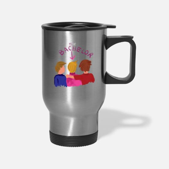 Groom Mugs & Drinkware - Bachelors In A Bachelors Party - Travel Mug silver