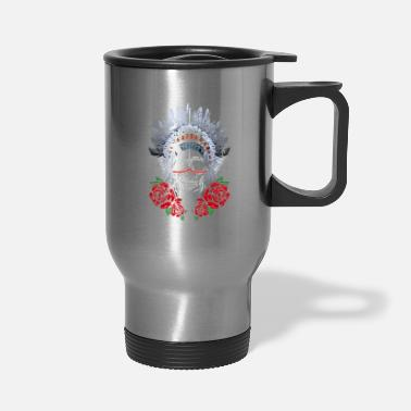 Native American American Indians Tribes Culture Ethnic T-Shirt - Travel Mug
