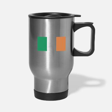 Ireland Flag of Ireland, Irelands flag, Ireland flag - Travel Mug