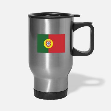 Portugal Flag of Portugal, Portugals flag, flag Portugal - Travel Mug