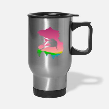 Mountain Climbing mountain climbing - Travel Mug