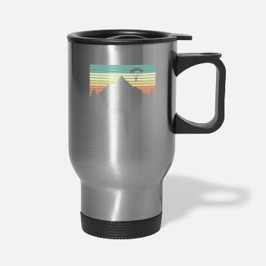 Extreme Spor Paraglide Skydiving - Travel Mug