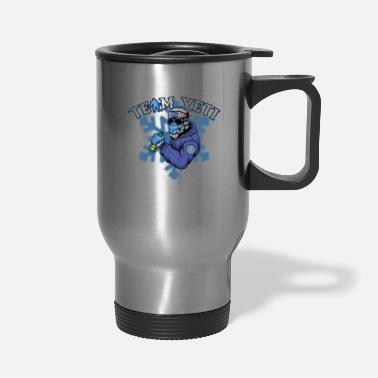 Abominable Snowman Yeti Abominable Snowman Mythological Creatures - Travel Mug