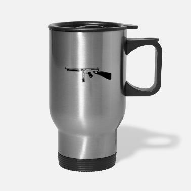 1928ac Thompson Tommy Gun submachine gun - Travel Mug