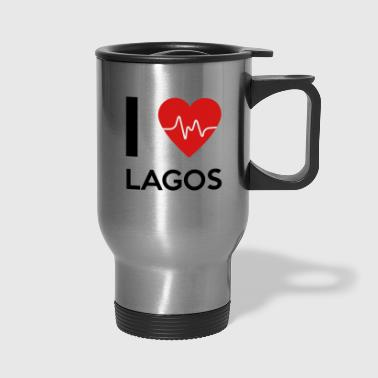 I Love Lagos - Travel Mug