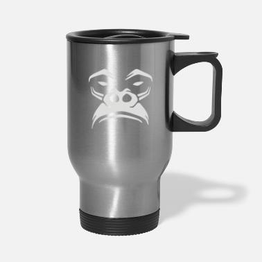 Amusing Gorilla Not Very Amused - Travel Mug