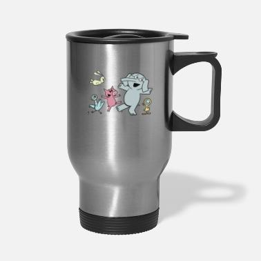 Elephant and piggie - Travel Mug