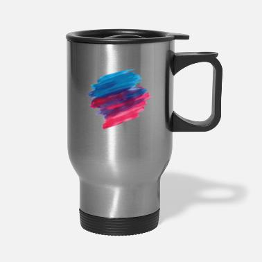Paint Brush paint brush - Travel Mug