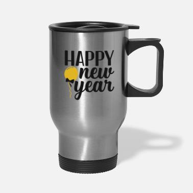 Cool Happy New Year - Travel Mug
