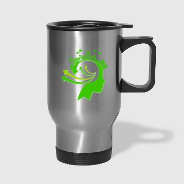 Ecology Concept Illustration - Travel Mug