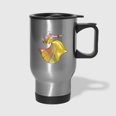 abstract - Travel Mug