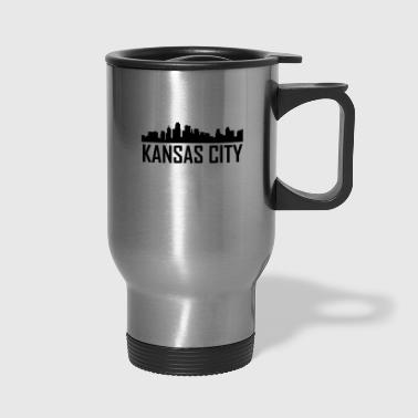 Kansas City Kansas City Skyline - Travel Mug