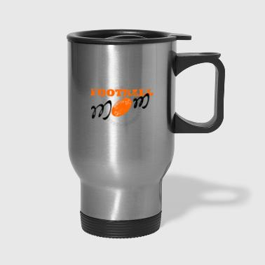 Football mom, American football - Travel Mug