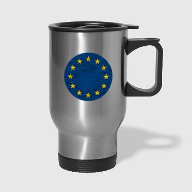 EU European Union Flag - Travel Mug