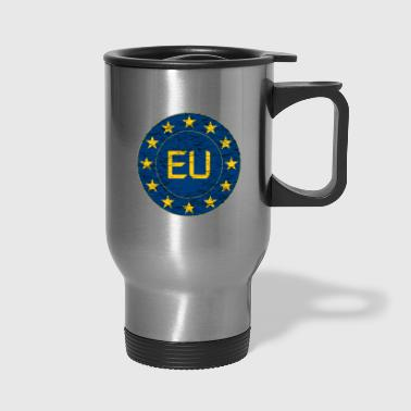 Flag of EU - Travel Mug