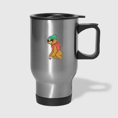 Climb Climbing Mountain - Travel Mug