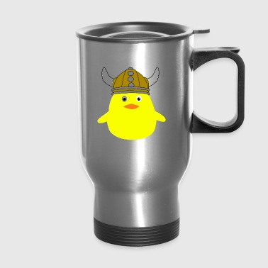 viking chick - Travel Mug