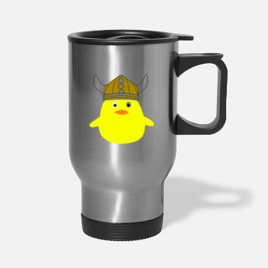 Viking viking chick - Travel Mug