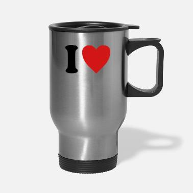 Lagos I love Lago di Garda (variable colors!) - Travel Mug