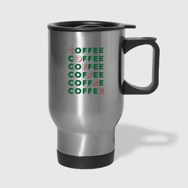coffee repeated - Travel Mug
