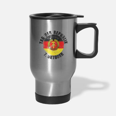 East Germany Day of the republic - East Germany retro - Travel Mug